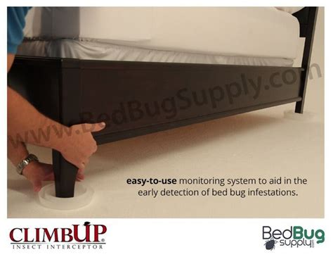 can bed bugs climb plastic climbup insect interceptors trap and monitor