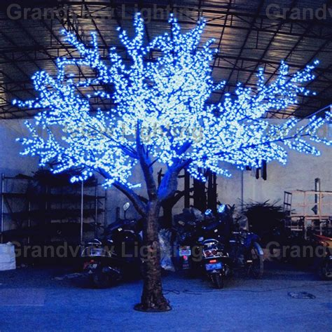 light up cherry blossom tree outdoor decorative and ce rohs certificated light