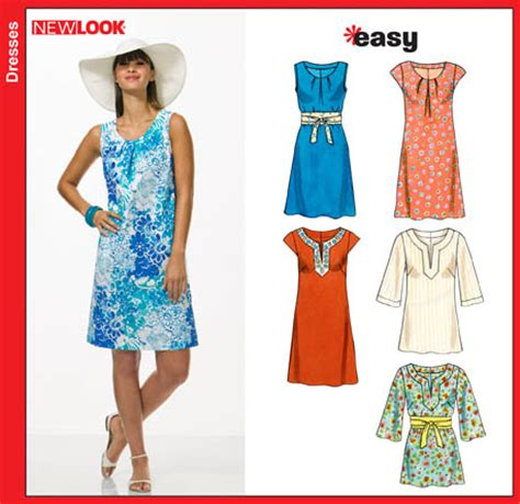 pattern review new look 6803 new look 6803 misses dresses