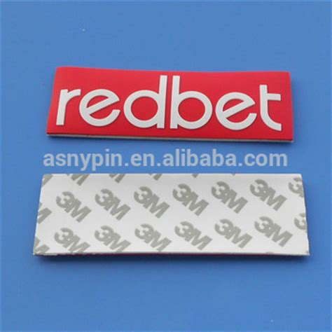 custom logo sts rubber personalized logo rubber patch self adhesive buy self
