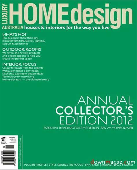 Home Design Magazine Vol 17 No 1 Luxury Design Home Vol 15 No 1 187 Pdf Magazines