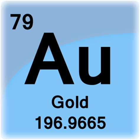 Periodic Table Gold by Periodic Table Of Elements Los Alamos National Laboratory