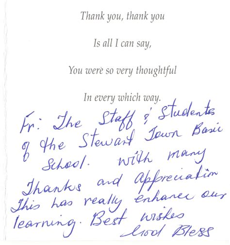 thank you letter to from principal thank you letter to principal 28 images best photos of