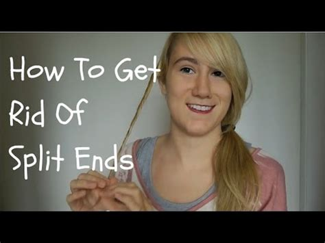 How To Get Rid Of Hair On by How To Get Rid Of Split Ends Without Cutting All Your Hair