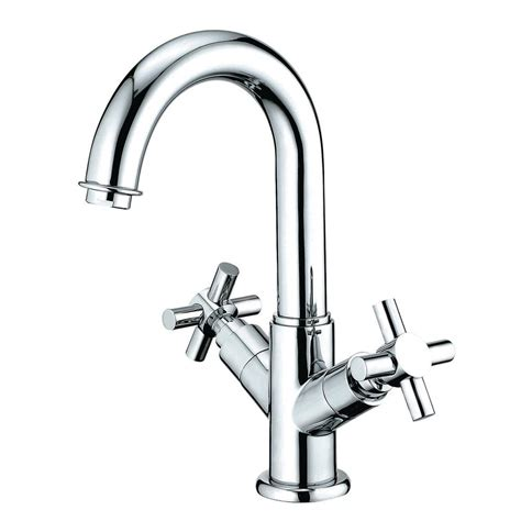 Single Sink With Two Faucets by Kingston Brass Single 2 Handle Bathroom Faucet