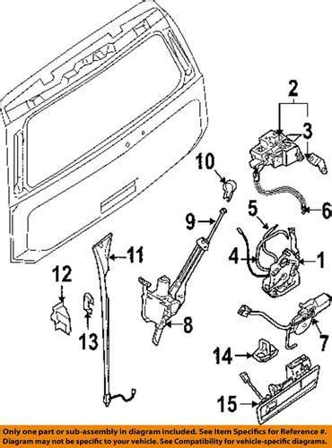 buy nissan oem 905027s00a trunk trunk part trunk lock