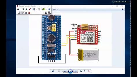 gsm siml stm arduino  http  requests youtube