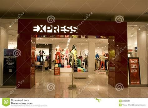 express store editorial stock image image