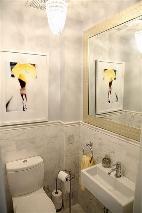 tiny powder room needing tiny powder room