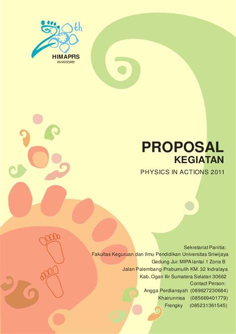 contoh membuat proposal untuk event proposal pia untuk sponsor