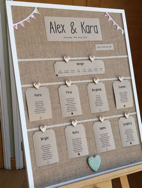 rustic themed wedding seating plan 7 best wedding table plan images on wedding