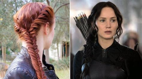 katniss hairstyle 17 best images about hunger games costume and makeup looks