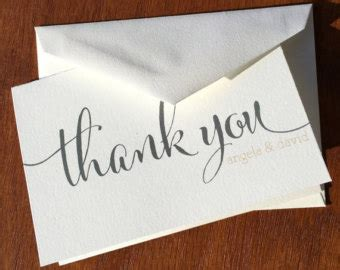 large 11x17 thank you card template wedding thank you cards etsy