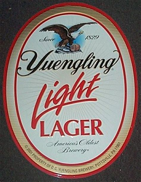 Yuengling Light Lager by Top 5 Light Beers The Pint Glass
