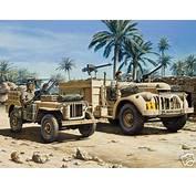 LRDG 30cwt Chevrolet &amp Jeep Revell 03225
