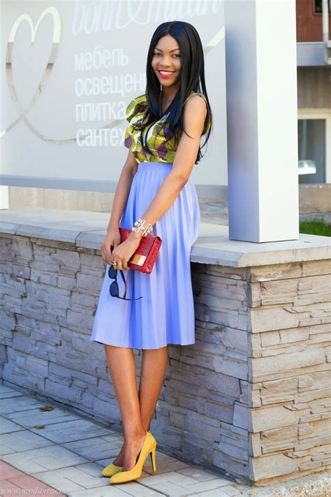 african dress skirt style 2014 zara african printed top with frills
