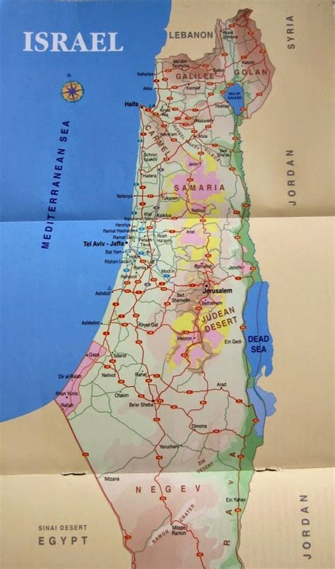 israel map today for his map of israel today i the map