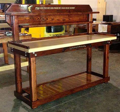 reloading work bench wow a mahogany reloading bench reloading rooms and