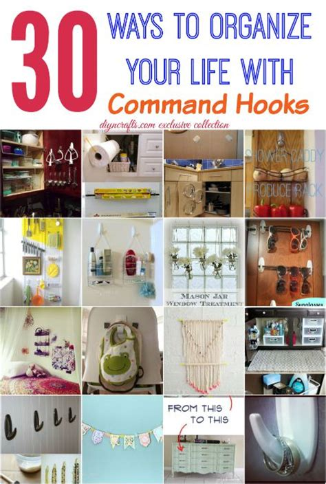organize your life 30 wonderful ways to organize your life with command hooks