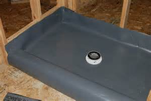 Shower Liner How To Build A Tile Shower Pan Icreatables