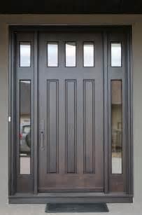 solid wood doors craftsman front doors calgary by