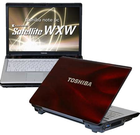 toshiba satellite wxw gaming notebook released in japan techgadgets