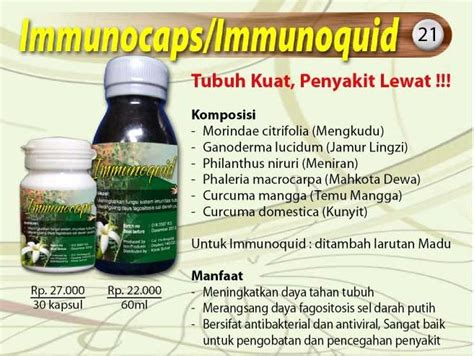 Morindae Herbs herbal immunocaps