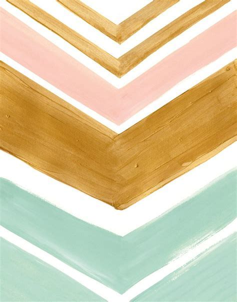pink, mint and gold print via feralponyshop   Decoration