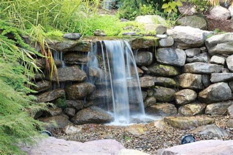backyard pondless waterfalls pondless waterfall design ideas unique garden water features