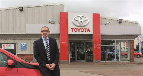 steve burrows car dealer dealer profile burrows toyota barnsley
