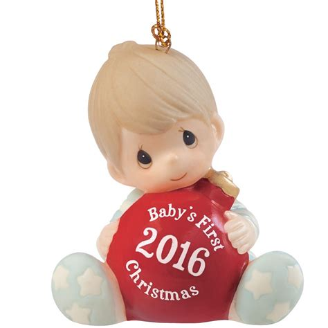 Charming Baby Boy First Christmas Ornament #1: 161006.main.jpg