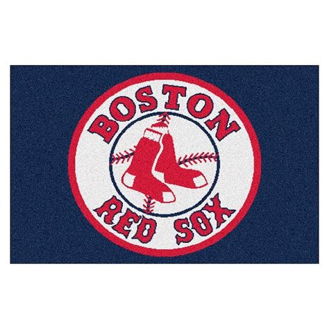 sox rugs boston sox fanmat accent rug 18x30 target