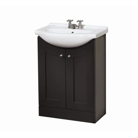euro style bathroom sinks style selections euro vanity espresso belly bowl single