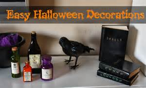 Simple Halloween Decoration Ideas The Lovebug Blog
