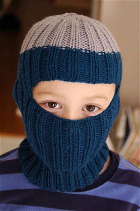 knit balaclava ski mask knitting pattern free simple free knitting