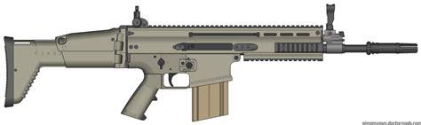scar 17s tattoo assault rifle herstal scar17 assault rifle by scarlighter on deviantart
