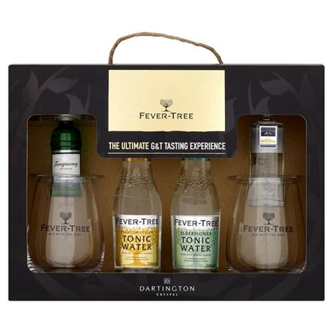 gin and tonic with 2 glasses gift set groceries tesco