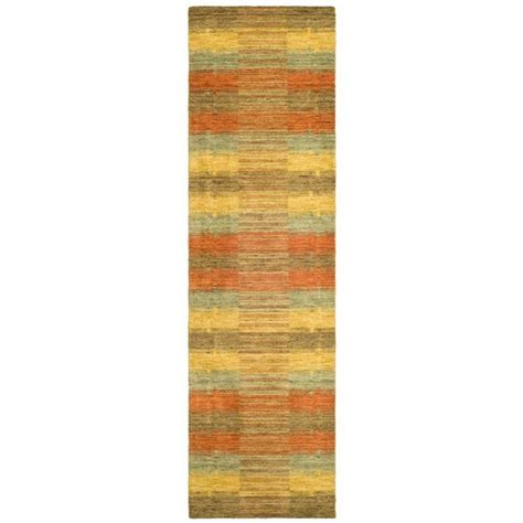 10 foot rug runners safavieh himalaya multi 2 ft 3 in x 10 ft rug runner him473a 210 the home depot