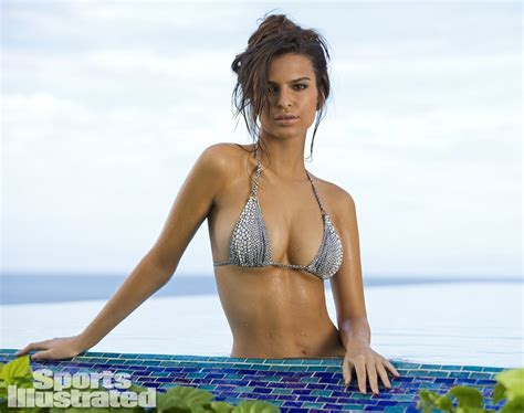 Popular Blue Paint Colors by Emily Ratajkowski Swimsuit Photos Sports Illustrated