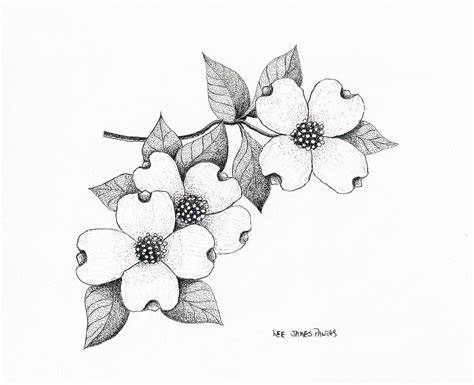 i want to get a tattoo of dogwood flowers my style