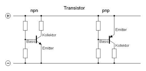 transistor npn anschluss transistor