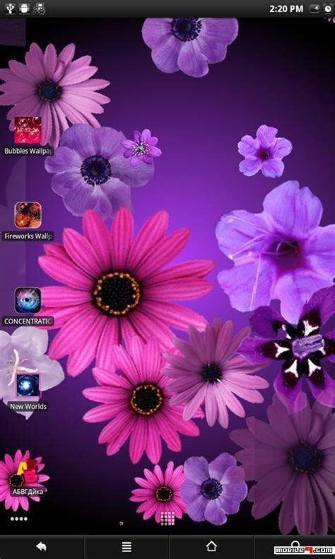 Android Flower Live Wallpaper Mobile9 by Flowers Live Wallpaper Android Live Wallpapers