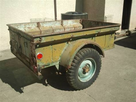Bantam Jeep Trailer For Sale Bantam Trailer Search Results Ewillys