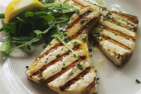 cucina di pesce ricette pesce spada alla piastra la ricetta secondo piatto