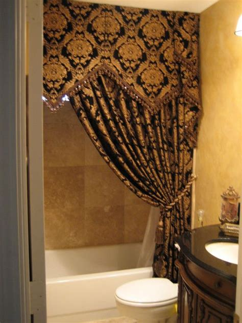 bathroom valances ideas black gold curtains11 useful reviews of shower stalls