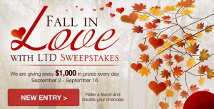 Limited Gift Card At Express - fall in love with ltd sweepstakes win a 500 american express gift card