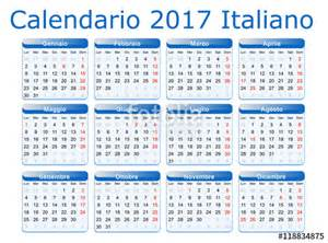 Calendario 2018 Numero Settimane Quot Calendario 2017 Italiano Quot Immagini E Vettoriali Royalty