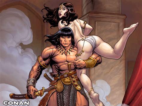 Estante Nerd Resenhas de Quadrinhos: Conan, o Bárbaro