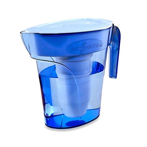 zero water pitcher zerowater 174 6 cup pitcher bed bath beyond