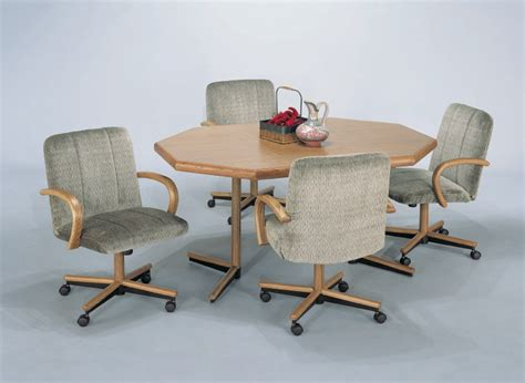 Kitchen Table Chairs With Wheels by Kitchen Table And Chairs With Wheels Marceladick